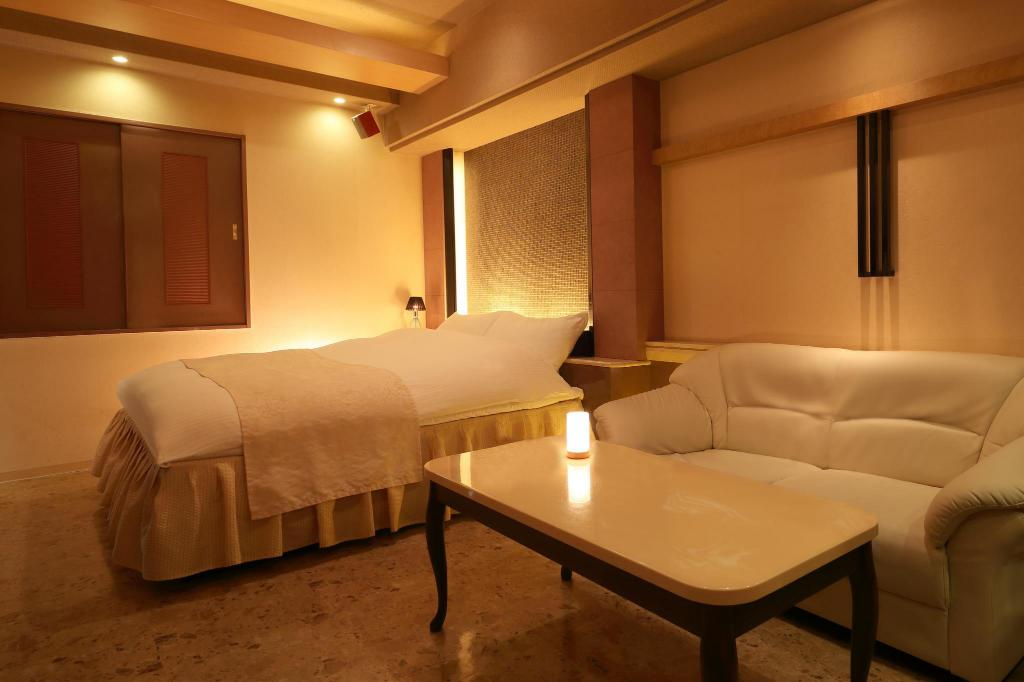 Double Room with Karaoke Hotel Grand Fine Kyoto Minami Free Parking - Adult Only