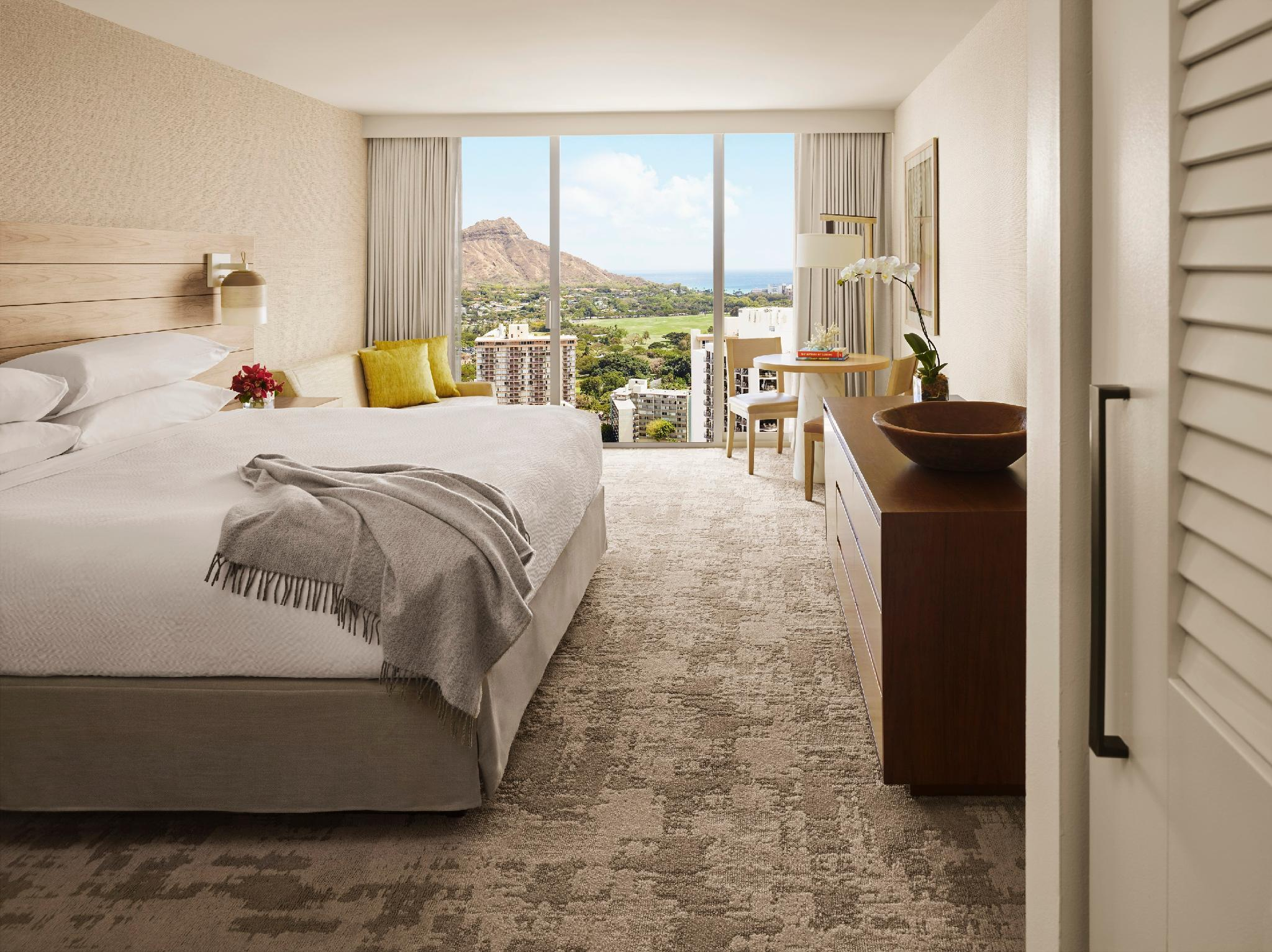 Diamond Head View Room with King Bed - Club Lounge Access Included