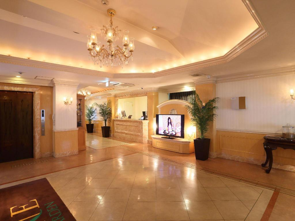 Lobby Hotel Fine Garden Horai Free Parking - Adult Only