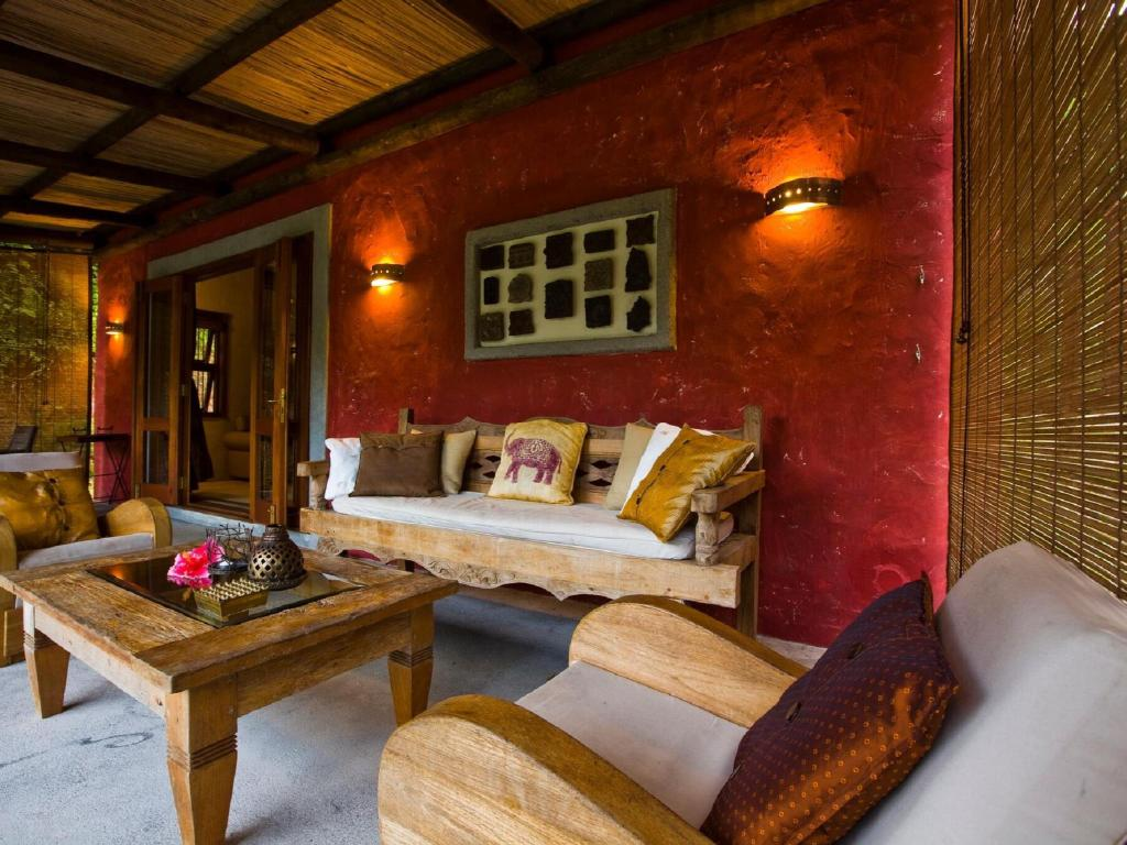 Interior view Lakaz Chamarel Exclusive Lodge