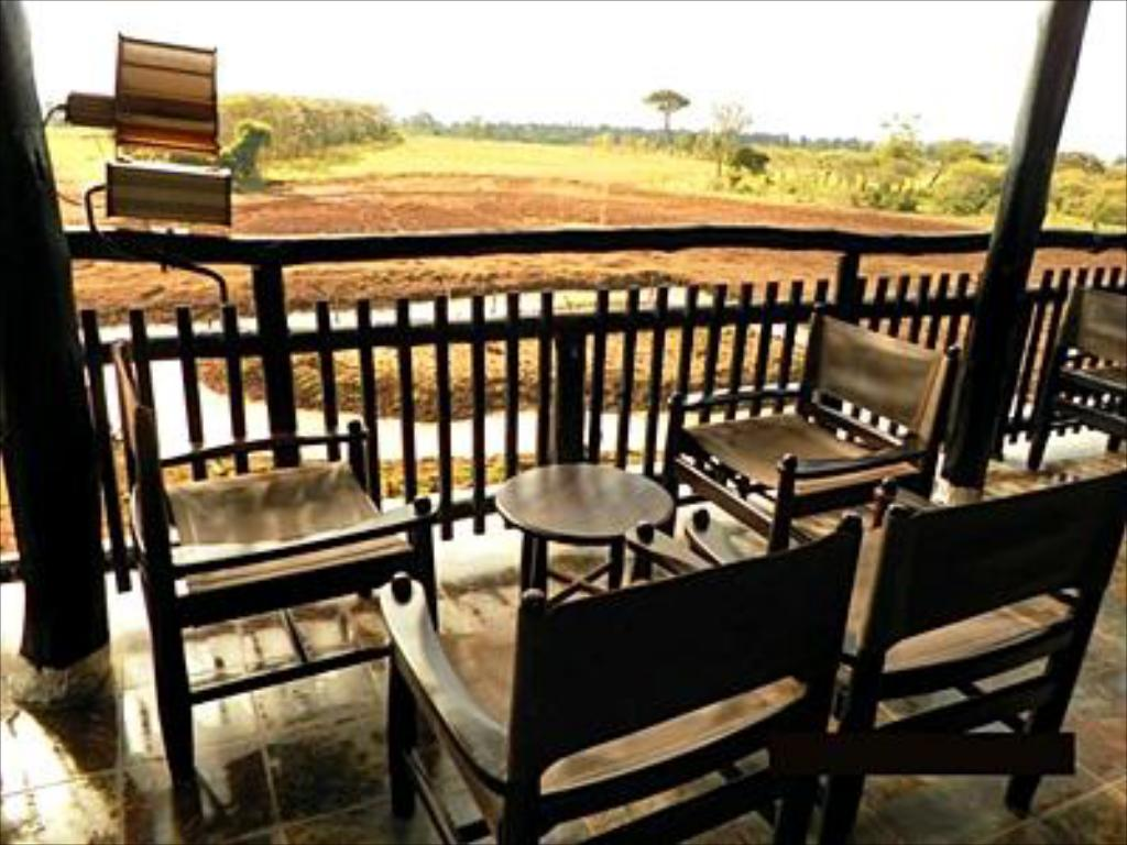 Balcony/terrace Treetops Lodge