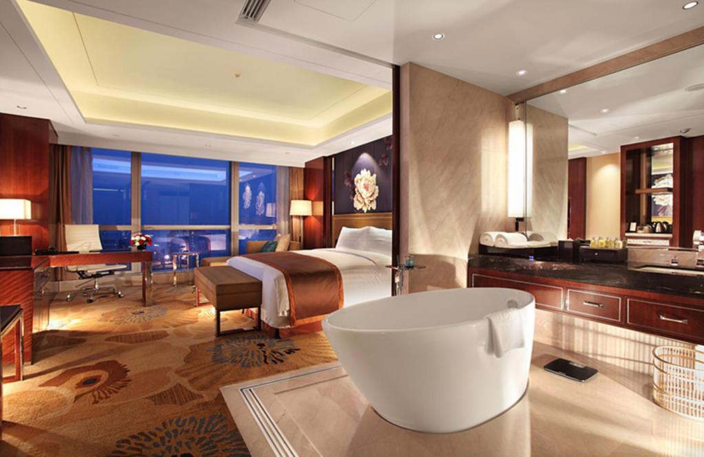 Executive King or Twin Room - Aerial view Minyoun Chengdu Dongda Hotel Member of Preferred Hotels & Resorts