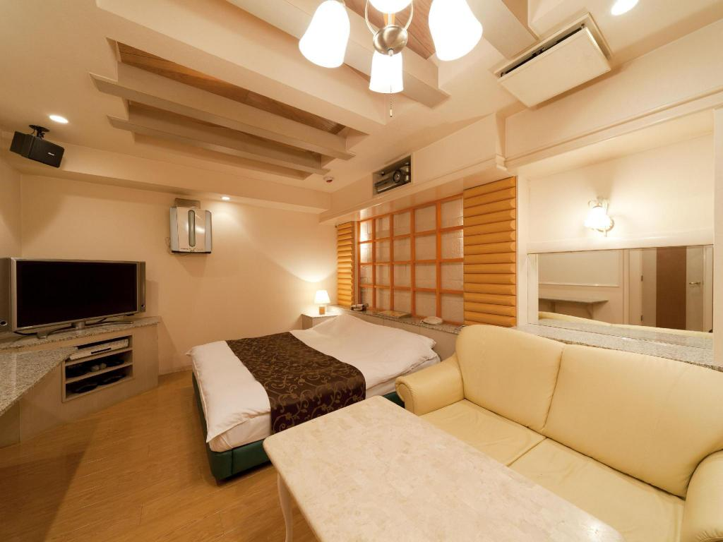 Double Room with Jacuzzi Hotel Fine Biwako Free Parking - Adult Only