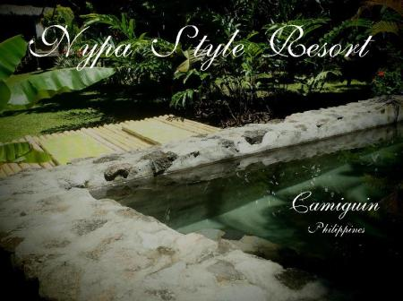 Swimming pool Nypa Style Resort Camiguin