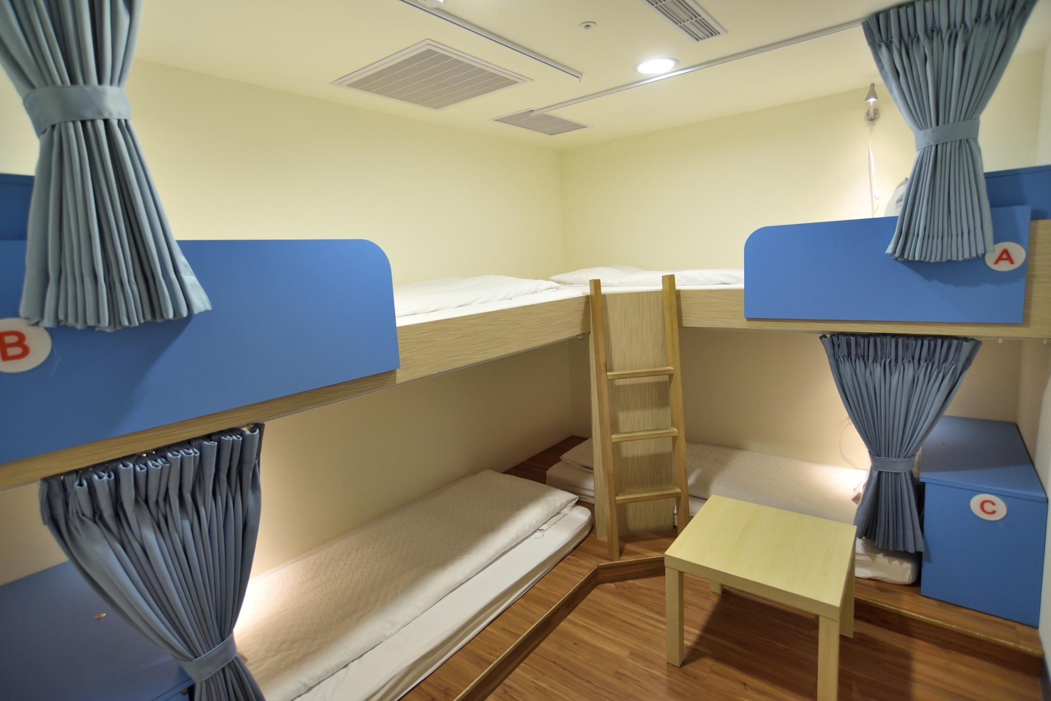 【1張床位】4人宿舍 - 限男性 (1 Person in 4-Bed Dormitory - Male Only)