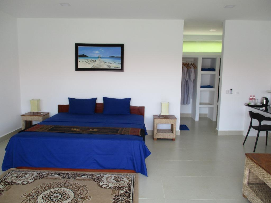 Beachfront Villa - Bed Saracen Bay Resort