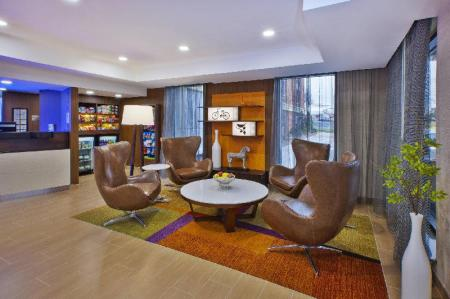 Лобби Fairfield Inn & Suites Herndon/Reston
