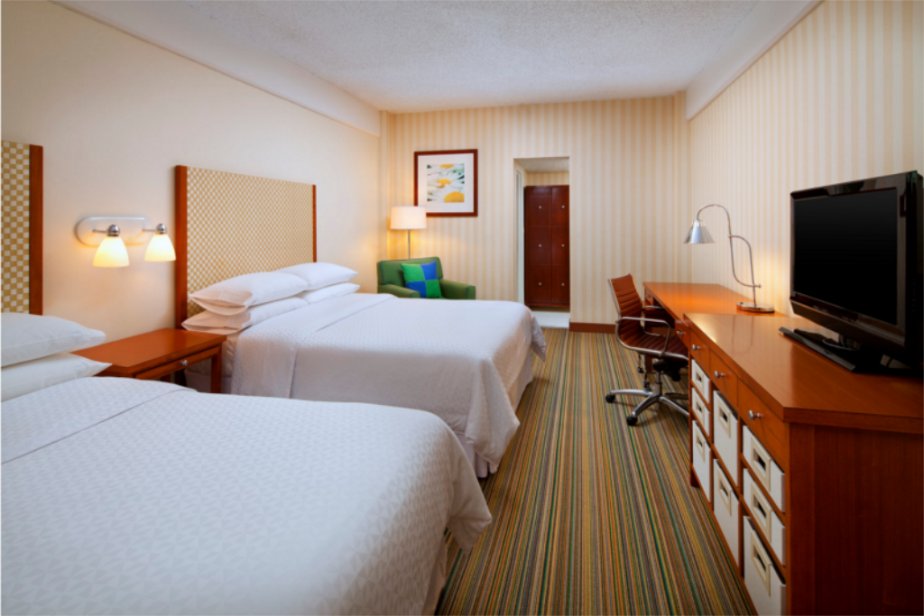 Traditionell 2 Doppelbetten Four Points by Sheraton Los Angeles International Airport