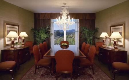 Interior view The Beverly Hilton Hotel