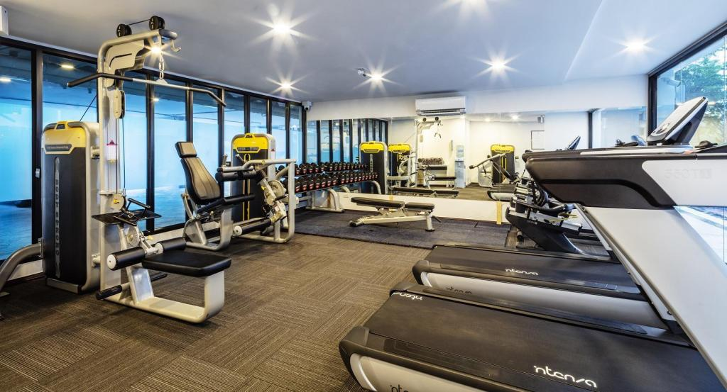 Fitness center The Rizin Hotel & Residences