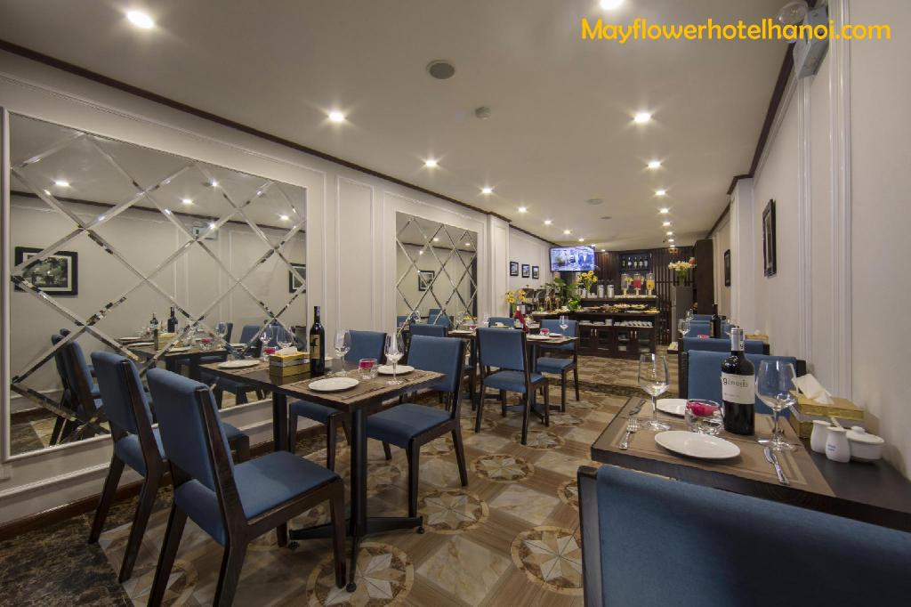 Büfé MayFlower Hotel Hanoi