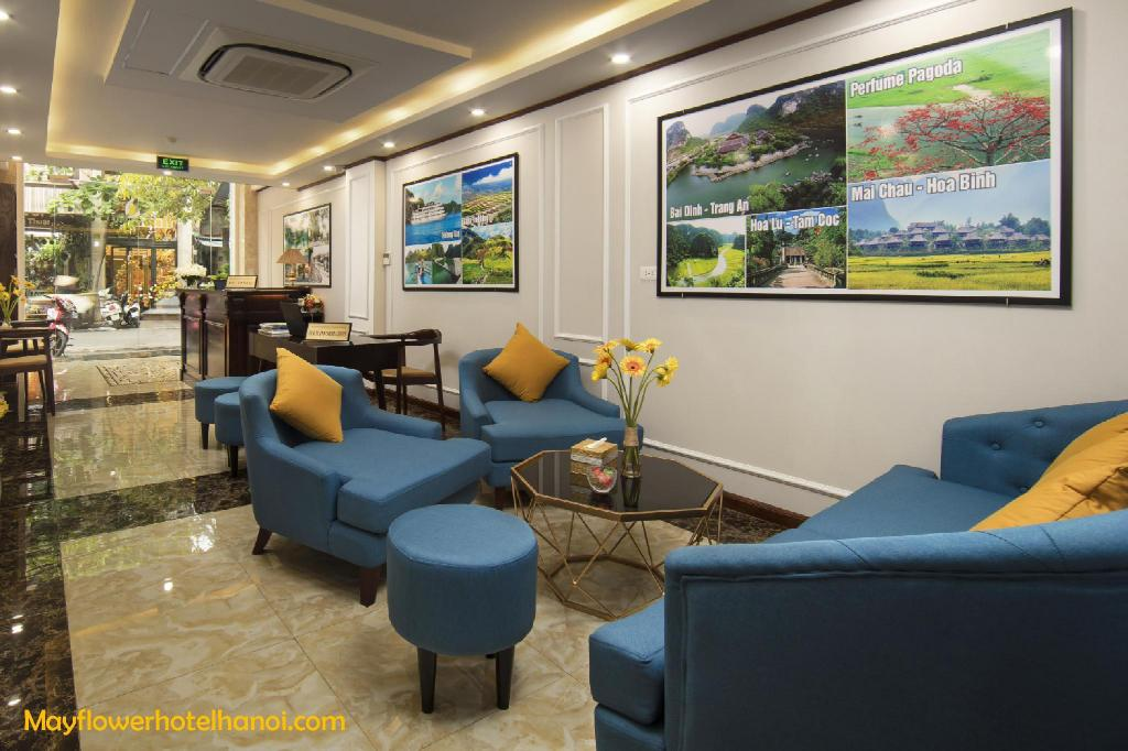 Előcsarnok MayFlower Hotel Hanoi