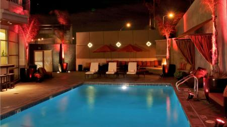 Swimming pool [outdoor] Hotel Angeleno