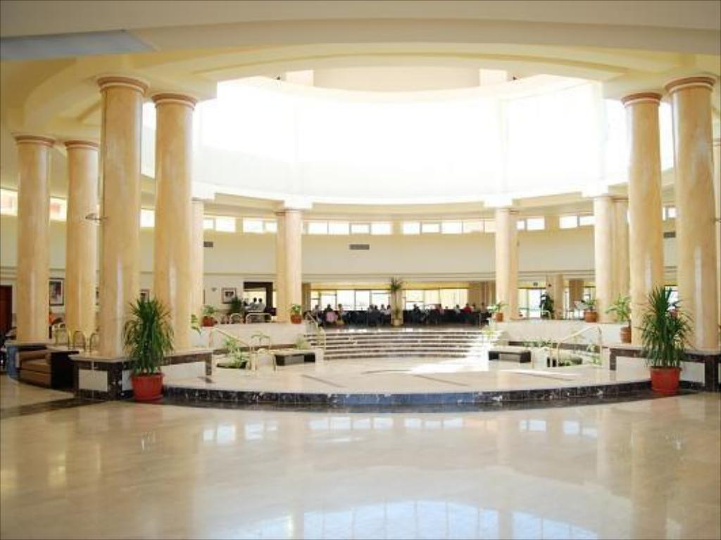 Interior view El Malikia Resort Abu Dabbab