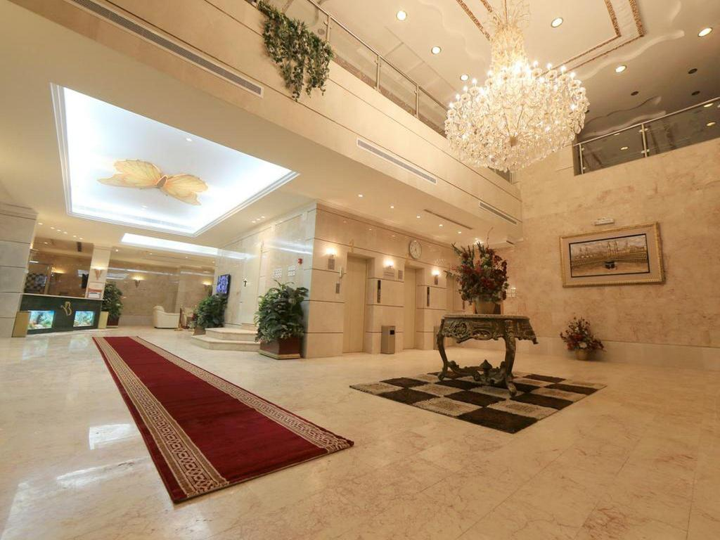 Лобби Snood Al Azizyh Hotel