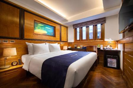 Superior Double Room - Room plan Hai Bay Hotel