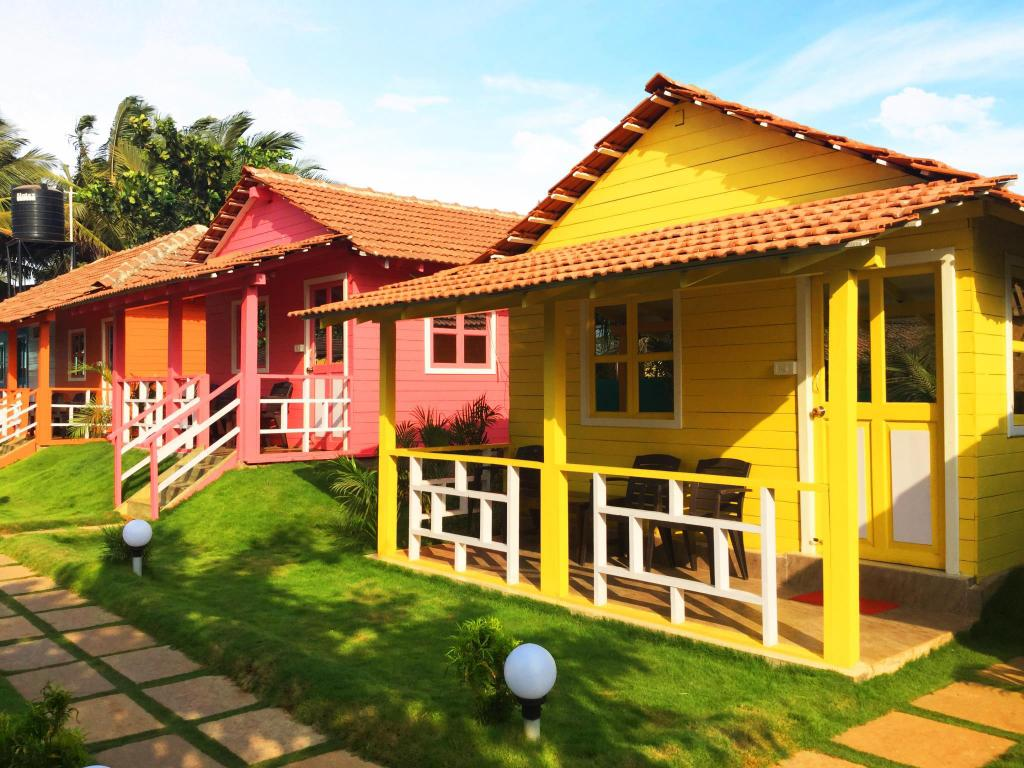 Előcsarnok Morjim Queen Beach Resort (Cottages) in Goa
