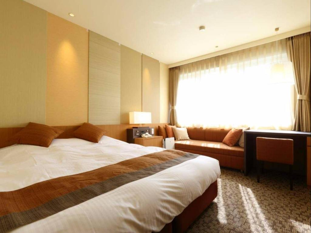 Hana Building Double Room - Non-Smoking - Room plan Suginoi Hotel