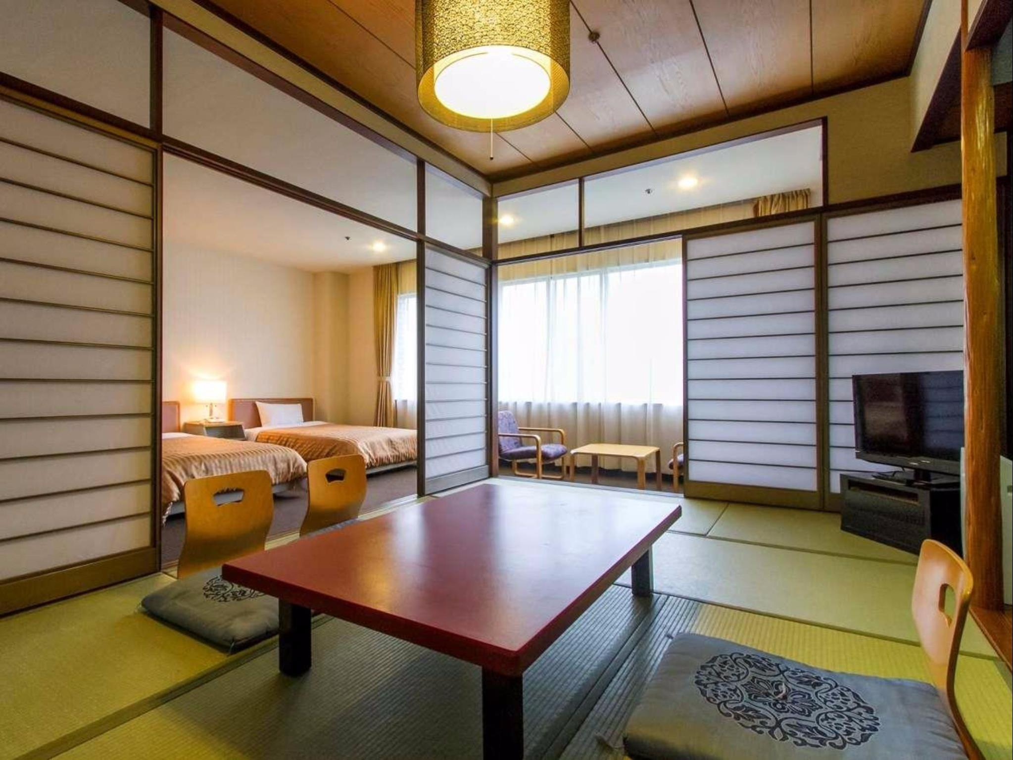 Main Building Mountain View Japanese Western Style Room - Special Offer