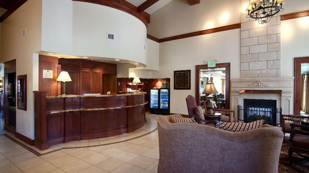 Lobby Best Western PLUS Greenwell Inn
