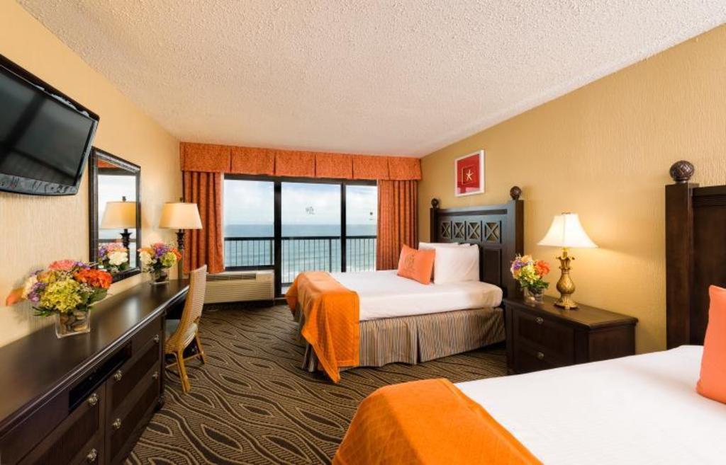 Ocean View Double Guestroom Westgate Myrtle Beach Oceanfront Resort