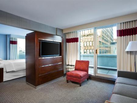 עיצוב הפנים Four Points by Sheraton Manhattan Chelsea