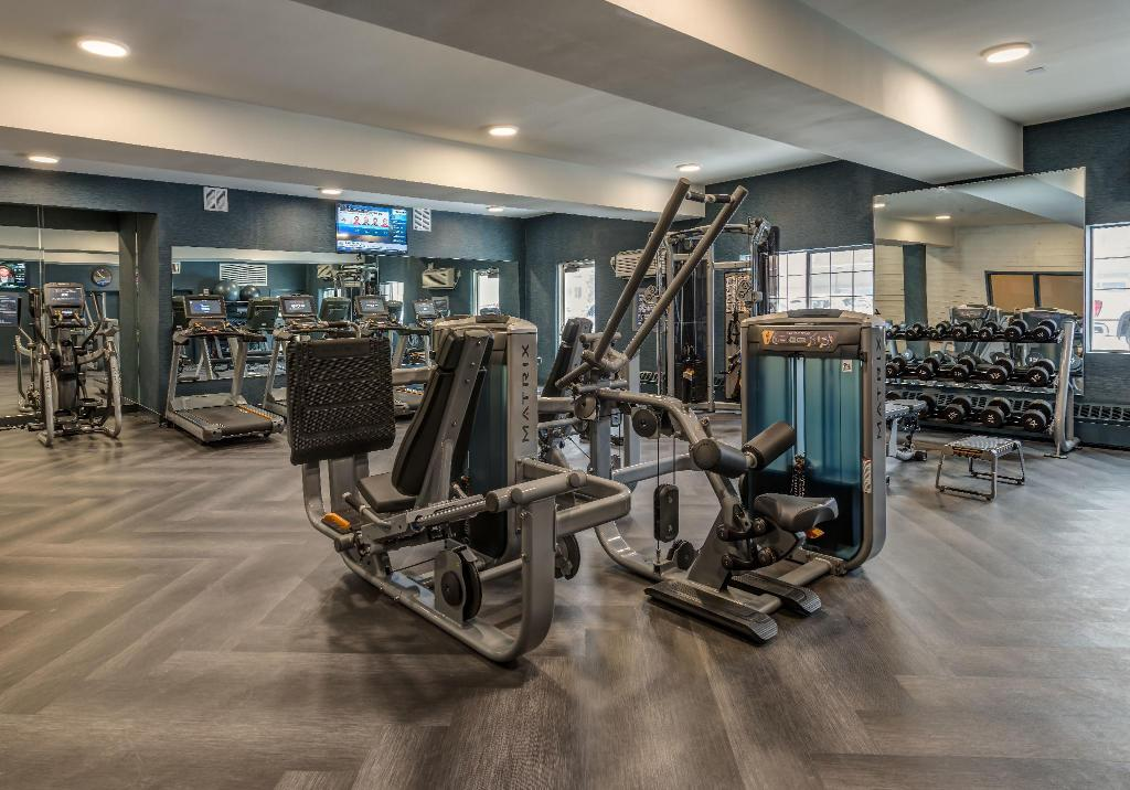 Fitness center Four Points by Sheraton Anchorage Downtown