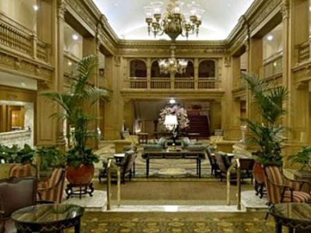 Vedere interior Fairmont Olympic Hotel