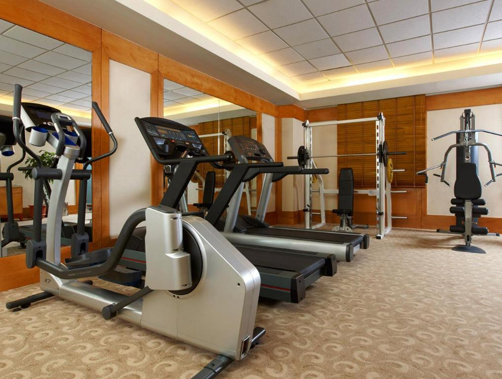 gimnasio Four Points By Sheraton Taipei Zhonghe Hotel