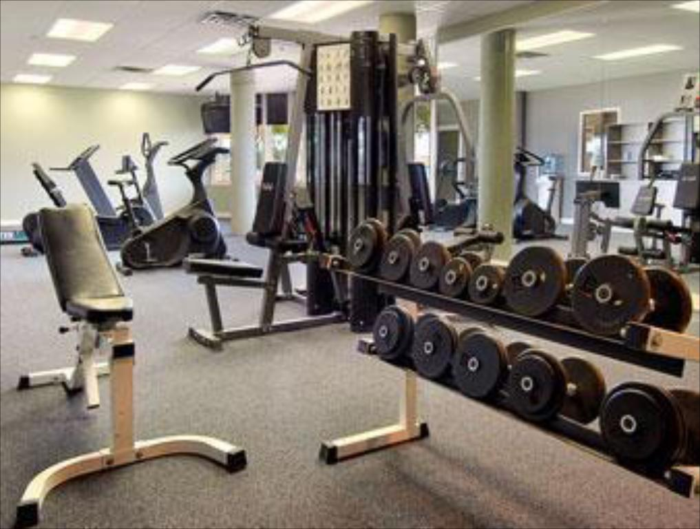 fitness centrum Edmonton Inn and Conference Centre