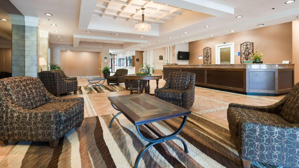 Lobby Best Western Plus Glengarry