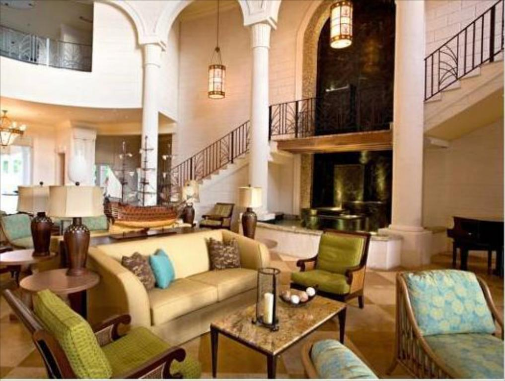 Lobby The Landings St. Lucia - All Suites