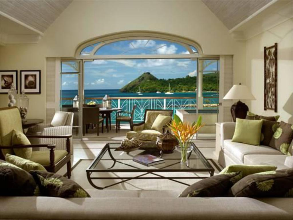 Hotellet indefra The Landings St. Lucia - All Suites