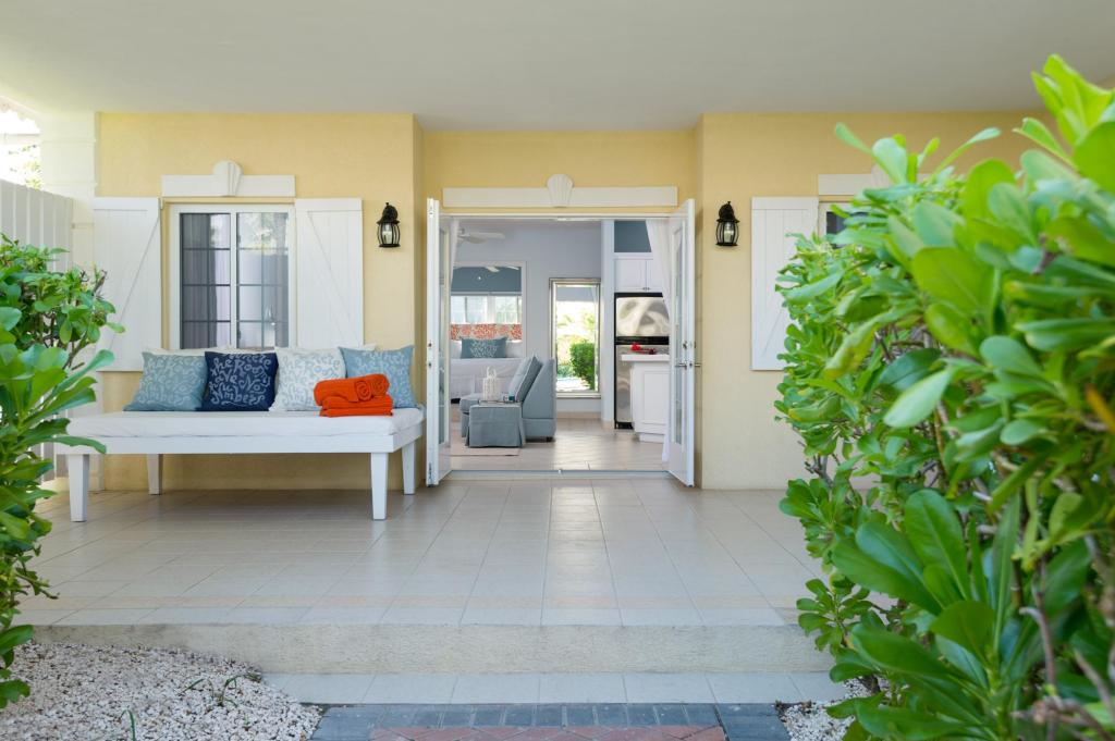 Interior view Beach House Turks and Caicos