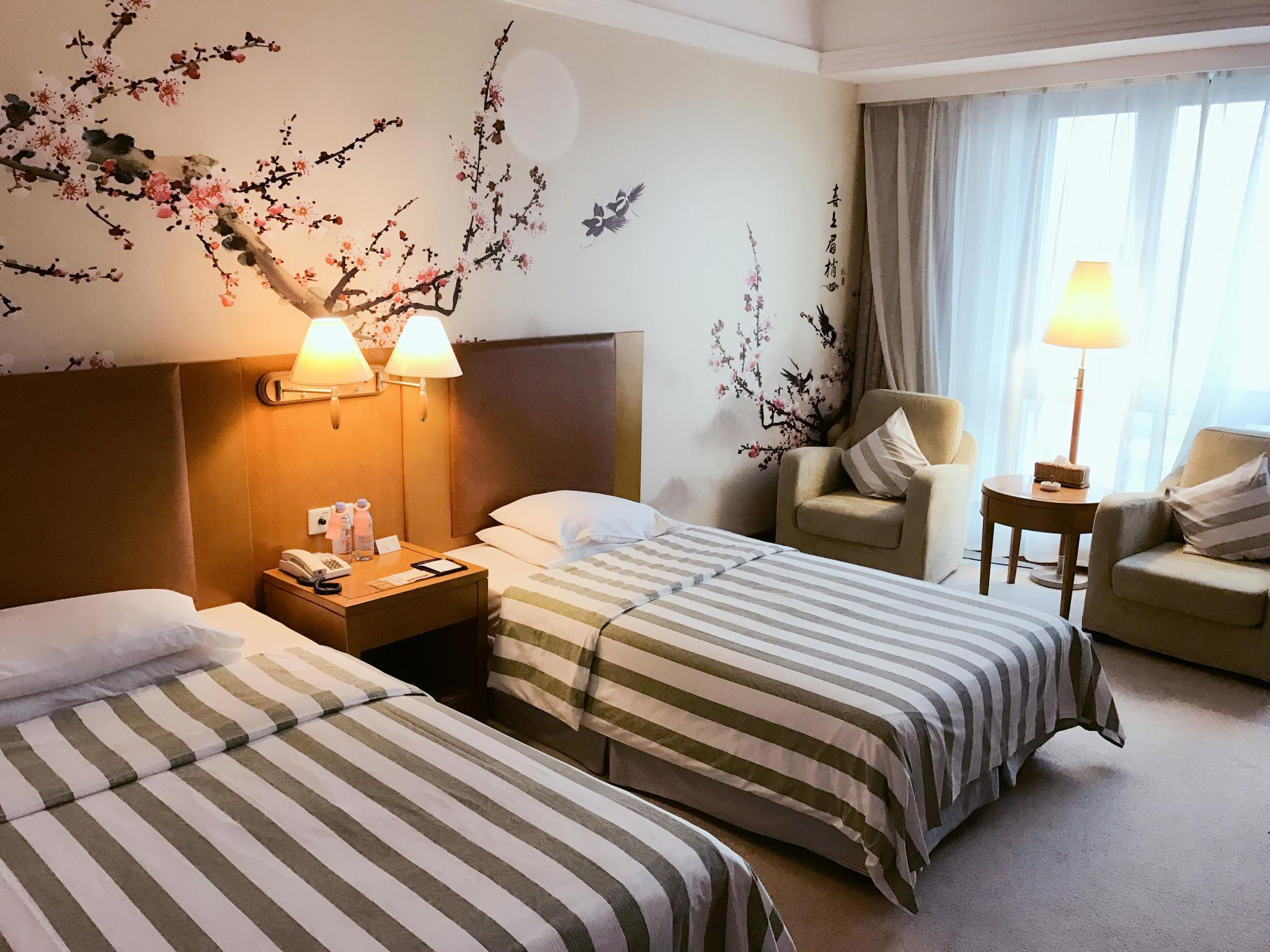 豪华双床间 (Deluxe Twin Bed Room)