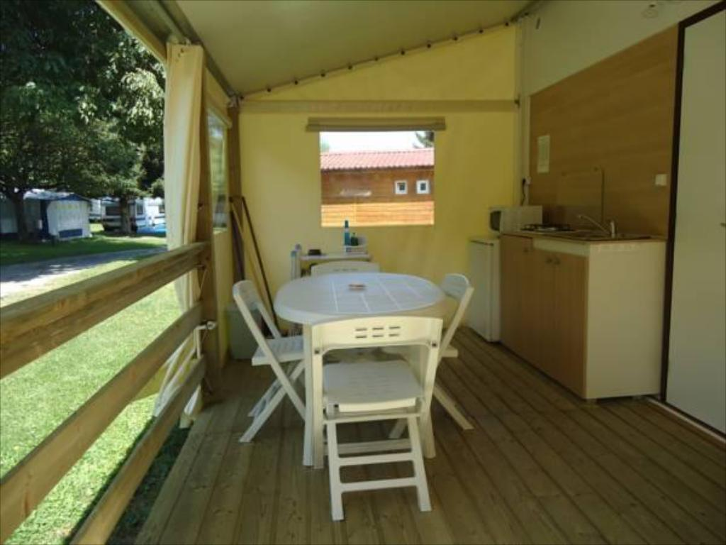 Interior view Camping Le Verger Fleuri