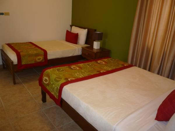 Double Room with Full Bed and Single Bed