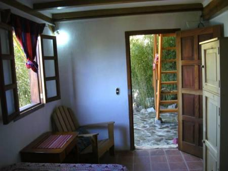 Interior view Casa Colonial Atitlan