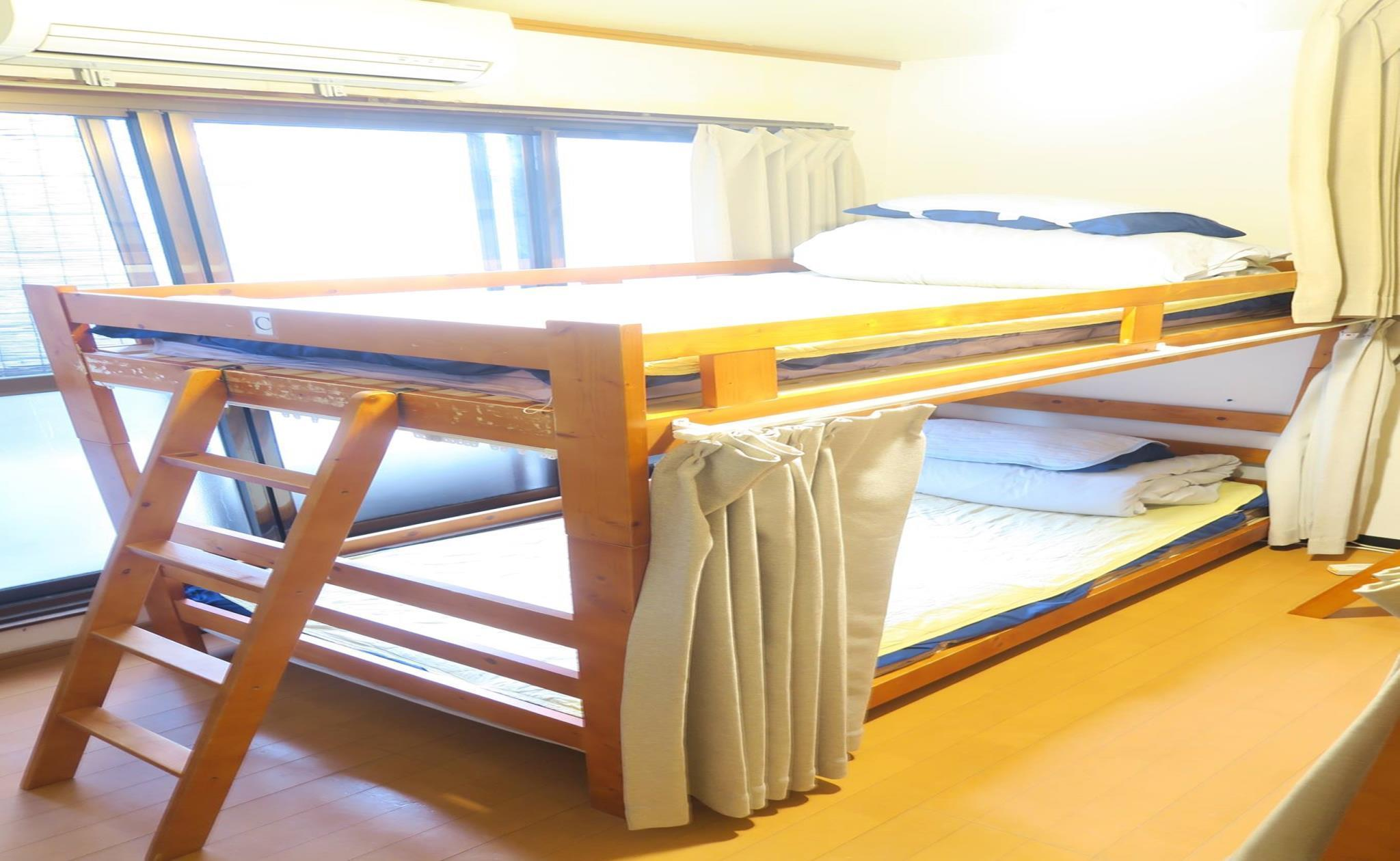 Køjeseng i Sovesal - Blandet (Bunk Bed in Mixed Dormitory Room)