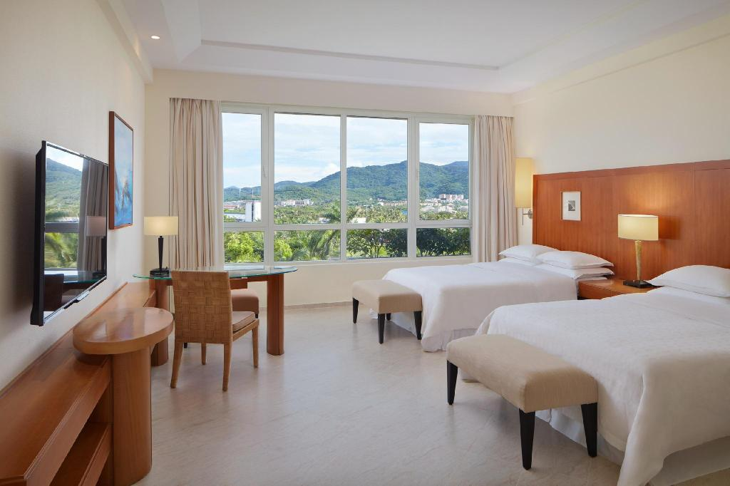 Superior Golf View Room, Guest room, Double, Golf view - Giường Sheraton Sanya Resort