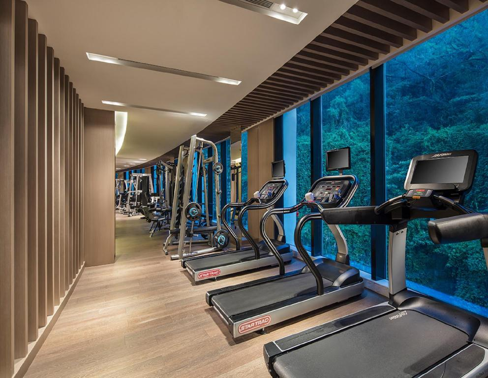 fitness centrum Grand Bay Hotel Zhuhai