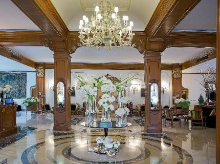 Lobby Aldrovandi Villa Borghese - The Leading Hotels of the World