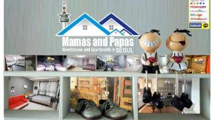 Mamas and Papas Hongdae Guesthouse