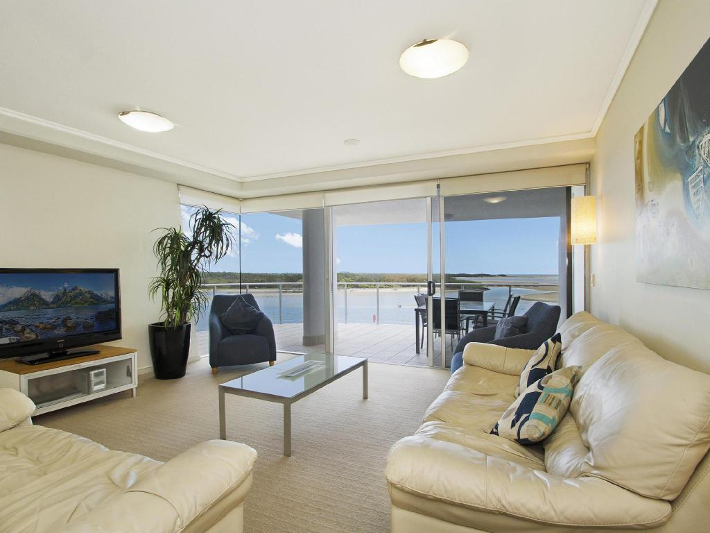 Interior view Waves Maroochy River Holiday House