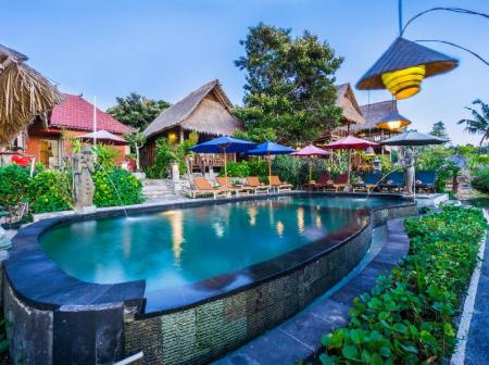 Swimming pool The Dafish Ceningan