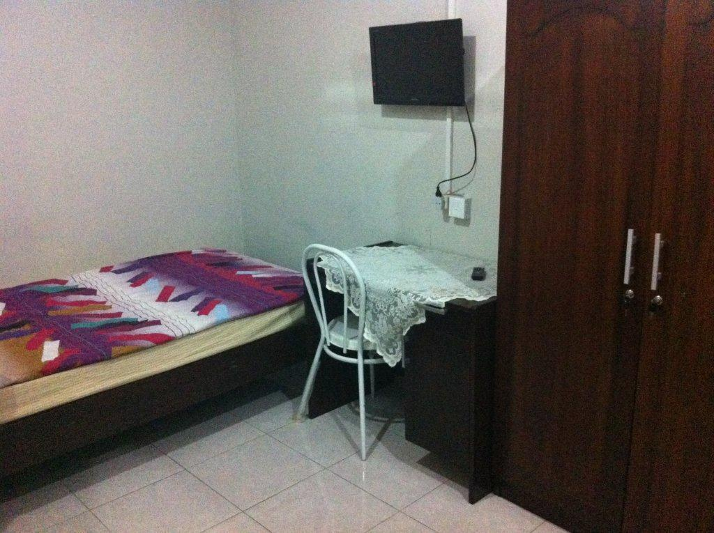 Single Bedroom with Fan