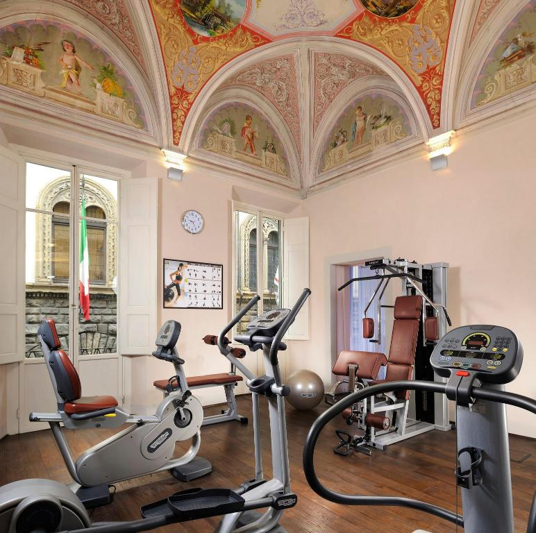 Fitness center Grand Hotel Cavour