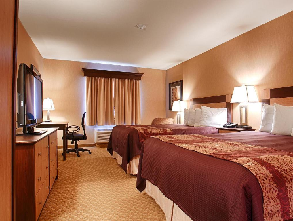 2 Queen Beds Non Smoking Best Western Crandon Inn And Suites