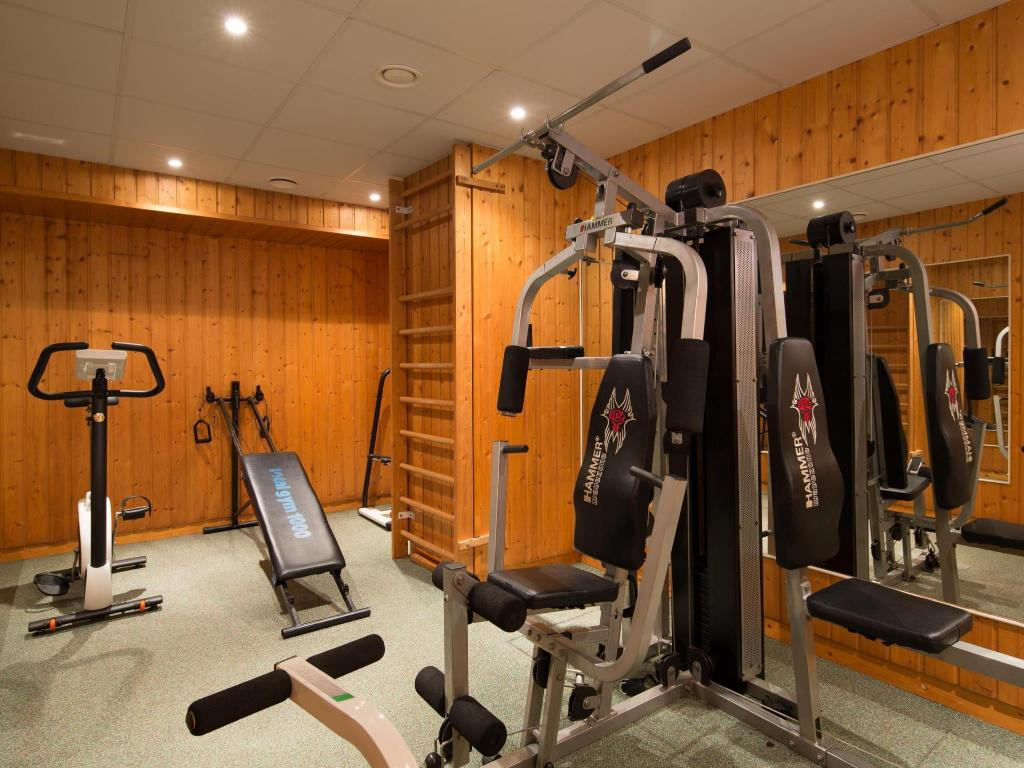 Fitness center Best Western Plus Hotel Meteor Plaza