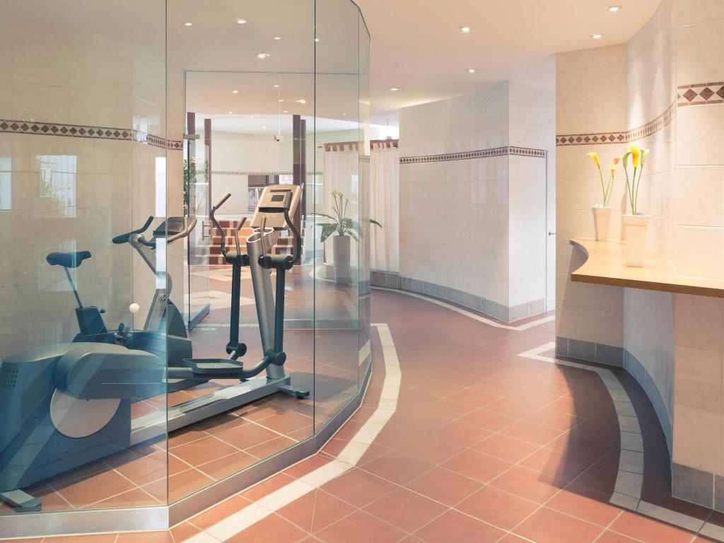 Fitness center Mercure Hotel Leipzig am Johannisplatz